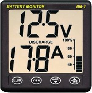 NASA    Clipper    Battery Monitor BM1 12V