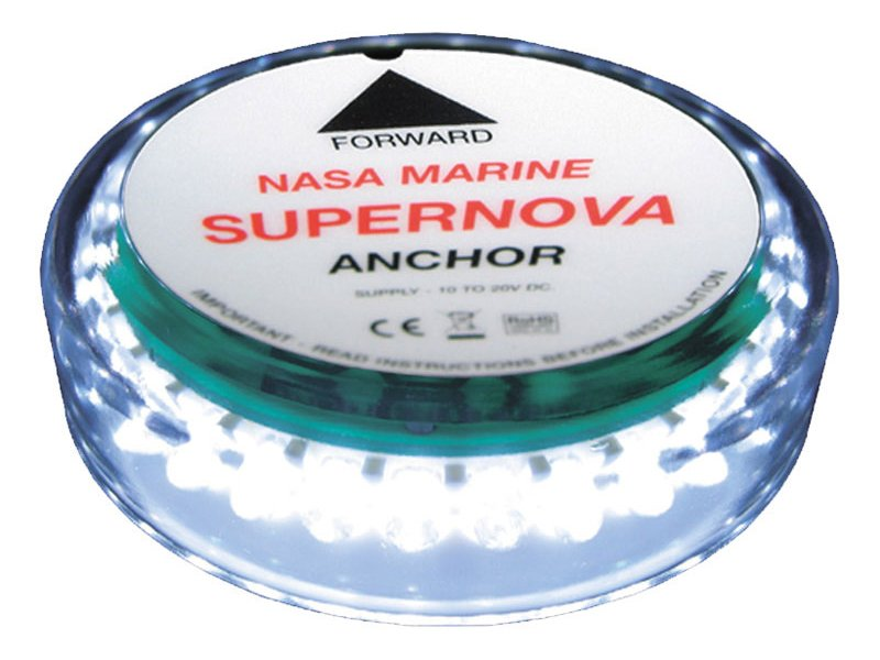 nasa supernova led all round white masthead anchor light. Black Bedroom Furniture Sets. Home Design Ideas